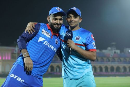 Two of India's brightest prospects. Image Courtesy: BCCI/IPLT20.com