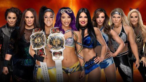 Wrestlemania 35: WWE Women's Tag Team Championship Match