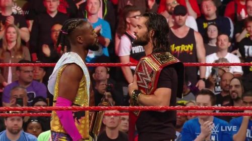 kofi kingston and seth rollins