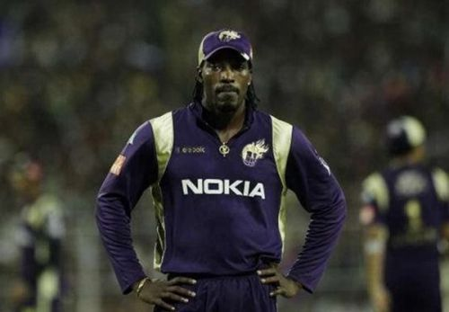 Chris Gayle KKR