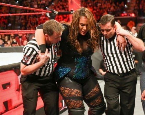 Nia will be out of action to repair both her ACLs