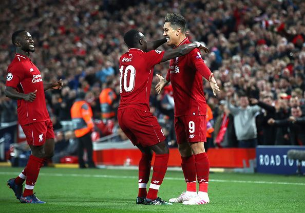 Liverpool defeated FC Porto 2-0 in the Champions League Quarter Final: First Leg
