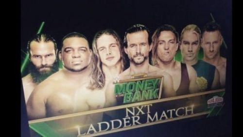 NXT लैडर मैच