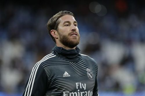 Real Madrid will be without their captain Sergio Ramos