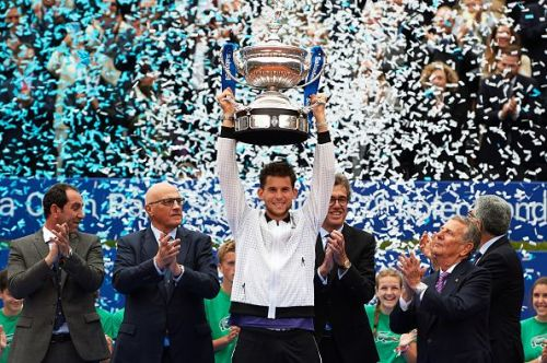 Dominic Thiem is ecstatic after winning his first ever title in Barcelona