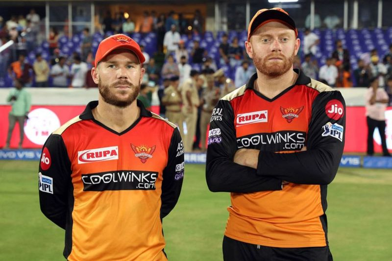 Warner and Bairstow (Image Courtesy: BCCI/iplt20.com)