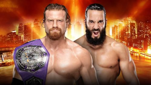 Wrestlemania 35: WWE Cruiserweight Championship - Buddy Murphy vs Tony Nese