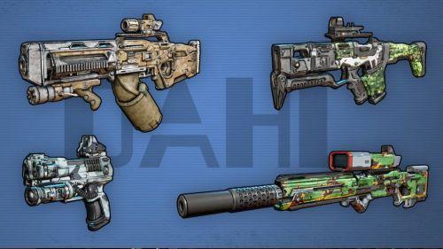 Borderlands 3 Gun Manufacturer: Dahl