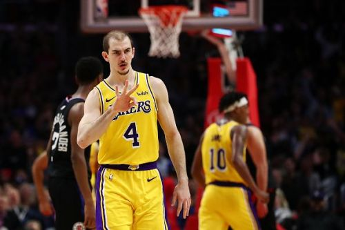 Alex Caruso has impressed for the Los Angeles Lakers