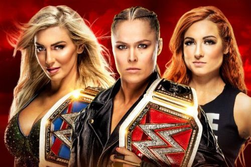 Becky pinned Ronda to win the match!