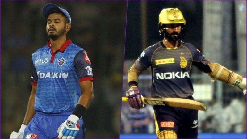 Shreyas Iyer and Dinesh Kartik