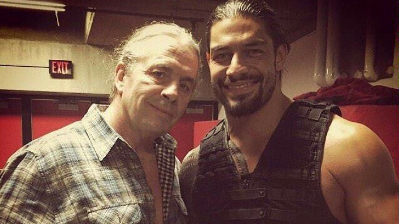 Both Bret Hart and Roman Reigns have overcome different forms of cancer.