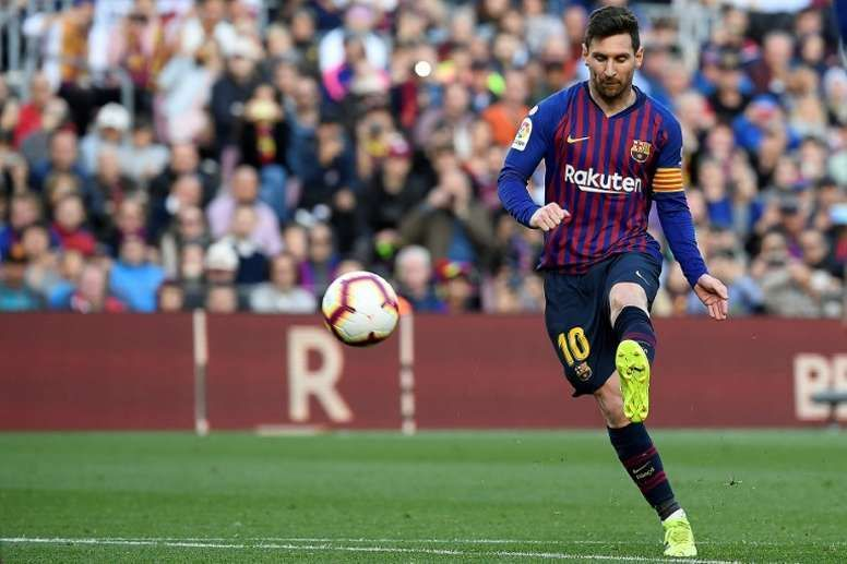 Marca has not credited the free-kick goal to Messi and stats on the website show 30 goals to his name this season.
