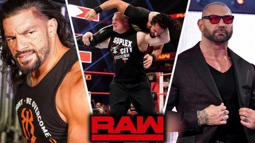 The last Monday Night Raw before Wrestlemania 35.