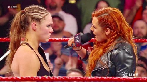 Becky Lynch, Charlotte Flair, and Ronda Rousey should cut one more promo before the match!