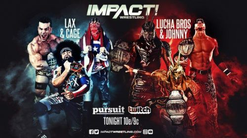 Champions vs Challengers in the main event of tonight's Impact
