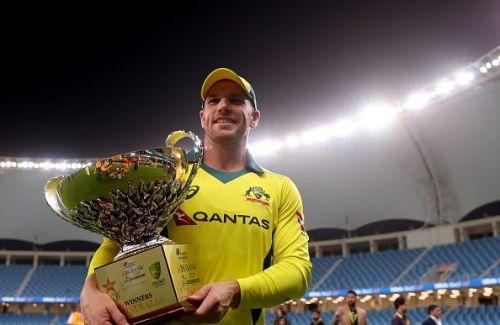 Aaron Finch will lead a confident and experienced squad to the World Cup.