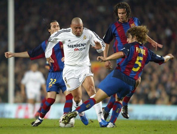 Ronaldo was one of the greatest strikers Europe has seen, but he never won the Champions League
