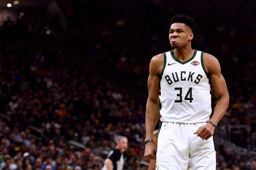 Giannis Antetokounmpo has been dealing with an ongoing ankle problem