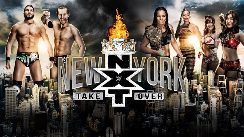NXT Takeover: New York will take place on the 5th of April, 2019
