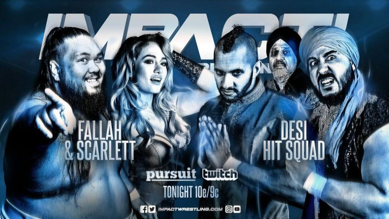 Fallah Bahh and Scarlett Bordeaux attempt to silence the Desi Hit Squad