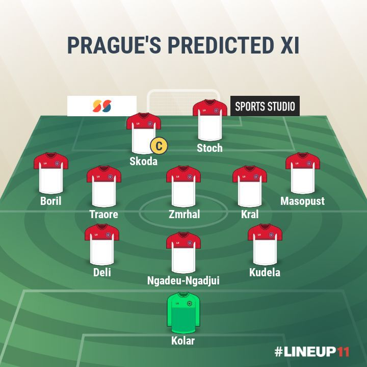 Prague- Predicted XI