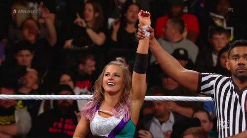 Candice LeRae started NXT off with an impressive victory