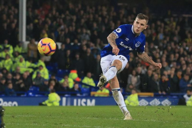 The Toffees signed Digne from Barcelona for just £18 million