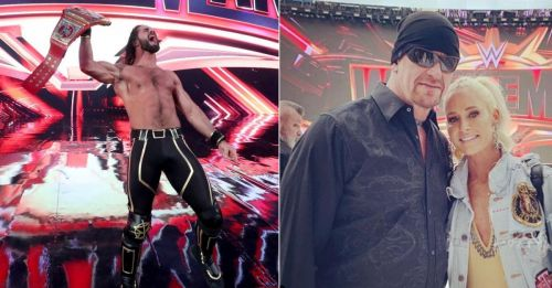 Seth Rollins and The Undertaker