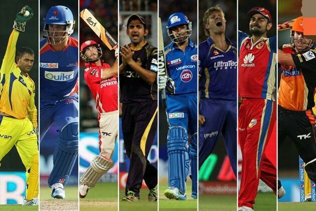 Ipl Series All Teams Players
