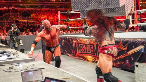 Triple H vs. Batista was one of the best matches from WrestleMania 35