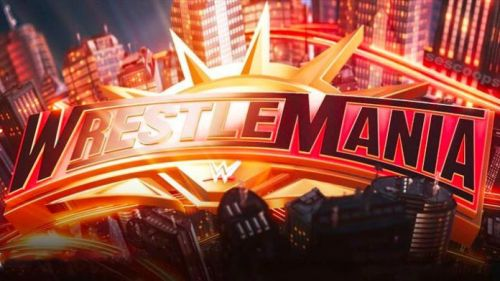 We got another look at the WrestleMania 35 stage