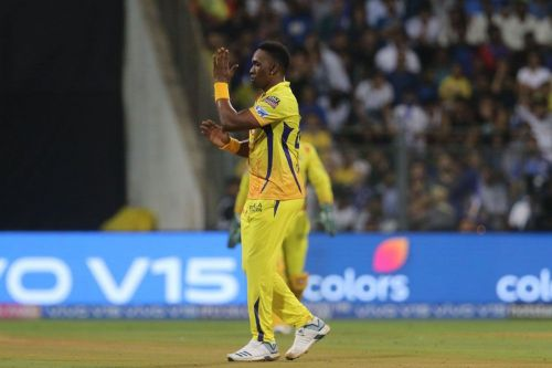 Dwayne Bravo is out for two weeks (picture courtesy-BCCI/iplt20.com)