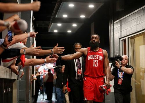Game 5: Houston Rockets Beat the Utah Jazz 100-93 to clinch the series