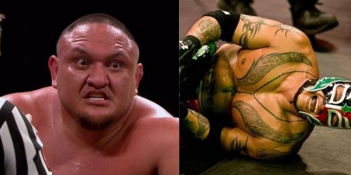 WWE WrestleMania 35: Samoa Joe vs Rey Mysterio