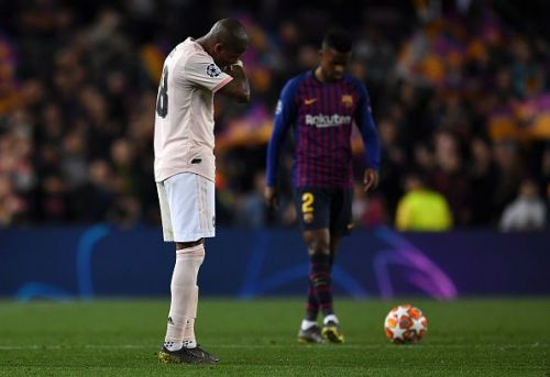 Ashley Young was disastrous on Tuesday