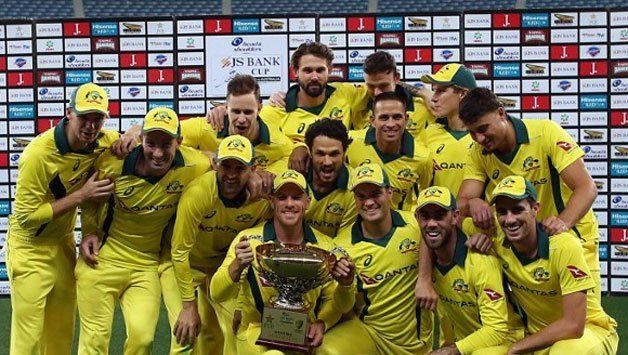 Australia won the odi series by 5-0