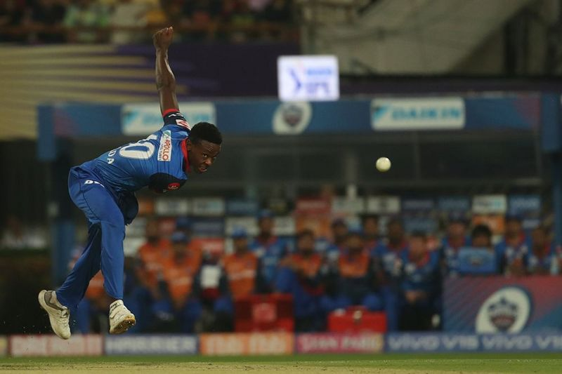 Kagiso Rabada, leading wicket-taker for Delhi Capitals so far. (Image courtesy: BCCI/iplt20.com)