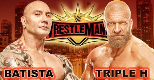 WrestleMania 35: No Holds Barred Match: Triple H vs Batista