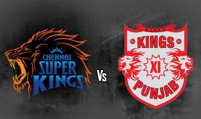 Chennai Super Kings Vs Kings Xl Punjab
