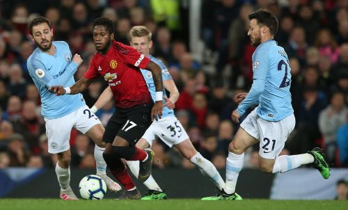 Manchester United with another loss to Manchester City.