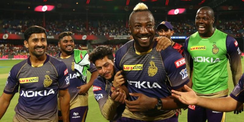 Andre Russell won the game for Kolkata Knight Riders last Friday