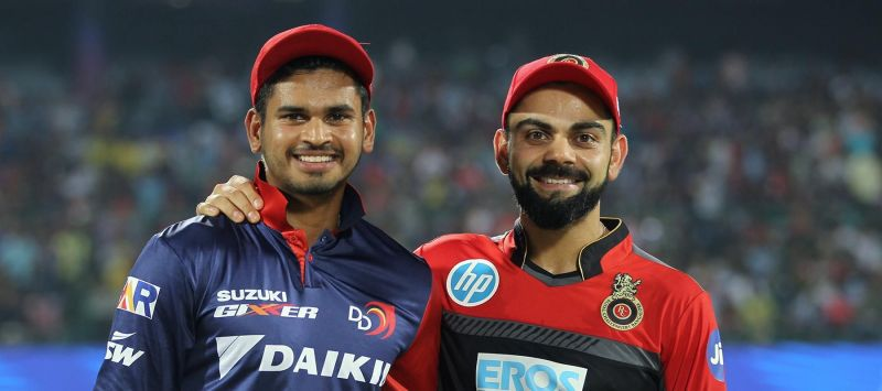 The captain of the two sides (picture courtesy: BCCI/iplt20.com)