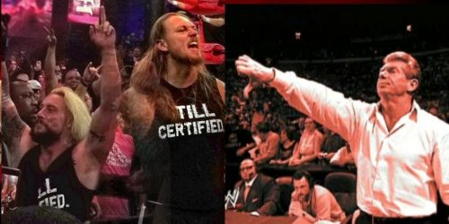 Enzo and Cass took a shot at the McMahons after the ROH G1 Supercard at MSG