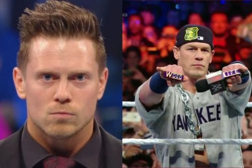 The Miz as a face against a heel John Cena would be very interesting