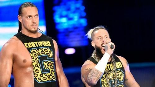 Enzo and Cass in WWE