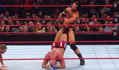 McIntyre made Kurt Angle submit to his own move on Raw