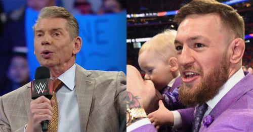 Could Vince McMahon sign a big-money talent like Conor McGregor?