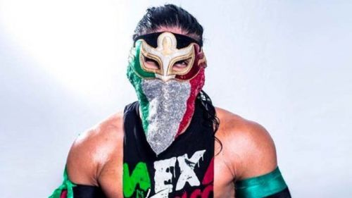 The young luchador has been impressive in the early stages of his career.