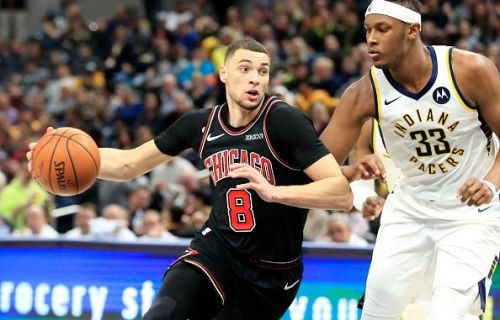 Zach LaVine has filled in as the Bulls' point guard